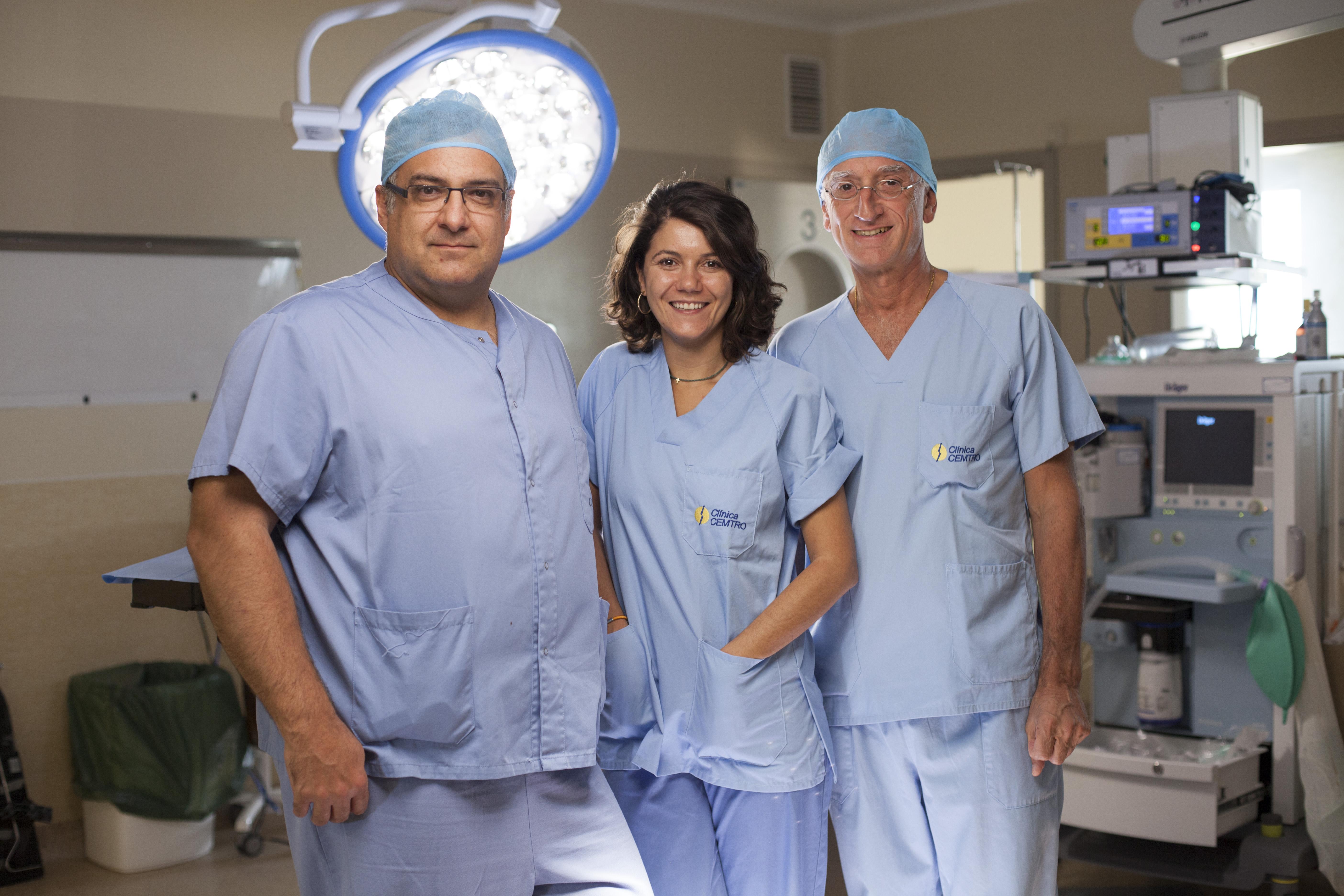equipo cirugia robotica da vinci